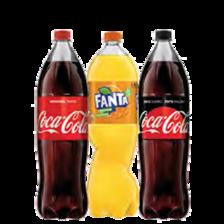 Coca-Cola, Fanta, Sprite, Kinley tonic