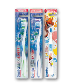 Dentamax zubní kartáček EXPERT medium, soft, kids soft