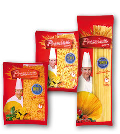 Premium kolínka malá bezvaječná, vřetena malá bezvaječná, špagety bezvaječné