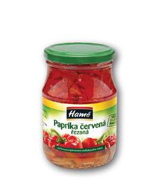Paprika červená řezy