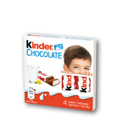 Kinder Chocolate tyčinky
