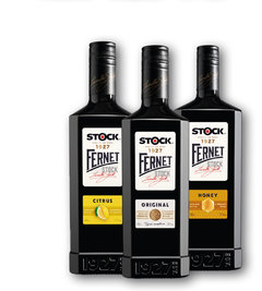 Fernet Stock honey 27%, citrus 27%, originál 38%