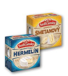 Sedlčanský hermelín původní, smetanový