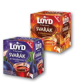 Čaj Loyd Svařák švestkový, medový