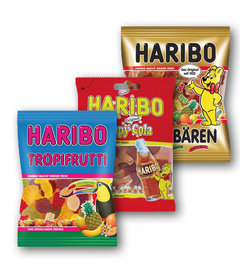 Haribo Tropi Frutti, Happy Cola, Goldbären