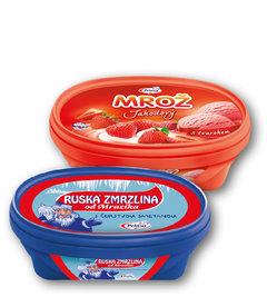 Prima Ruská od Mrazíka, Mrož jahodový ve vaničce