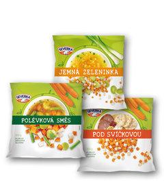 Severka polévková směs, jemná zeleninka, pod svíčkovou - kostky