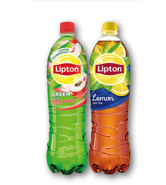 Lipton Green White Peach, Ice Tea Lemon