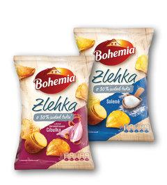 Bohemia Chips Zlehka cibulka, solené