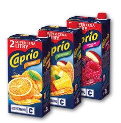 Caprio pomeranč, multivitamín, jablko a malina
