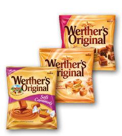 Werther´s Original, caramels, chocolate