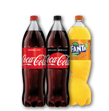 Coca-Cola, Coca-Cola Zero, Fanta, Sprite