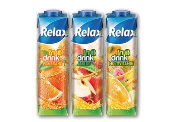 Relax Fruit Drink pomeranč, jablko, multivitamín