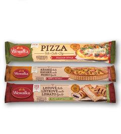 Těsto na pizzu italien style, křehké na kulatý koláč, listové čerstvé