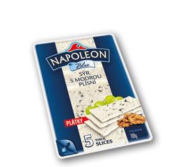 Napoleon plátky sýr s modrou plísní 50%