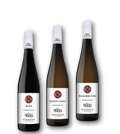 Réva Rakvice suché víno André, Ryzlink rýnský, Rulandské bílé