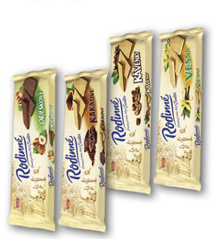 Rodinné oplatky oříškové, kakaové, Kávenky, Vesna