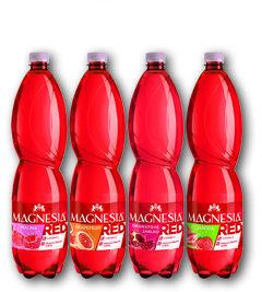 Magnesia Red malina, grapefruit, granátové jablko, jahoda