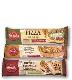 Těsto listové čerstvé, Těsto křehké na kulatý koláč, Těsto na pizzu italien style