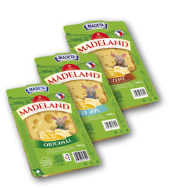 Madeland plátky 45%, Fitness 20%, uzený 44%