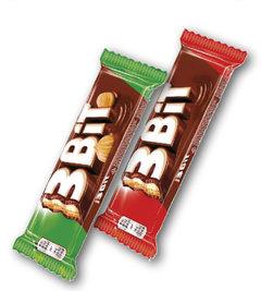 3Bit Nut čokoládová tyčinka, 3Bit čokoládová tyčinka
