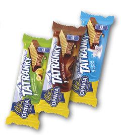 Tatranky lískooříškové, čokoládové, mléčné