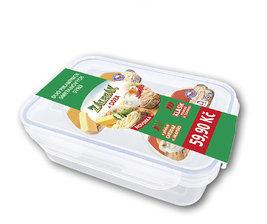 Zálesák 2ks termizovaný smetanový sýr v DÓZE, klasik pikant a cheddar jalapeňo