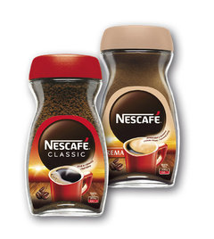 Nescafé Classic originál, crema