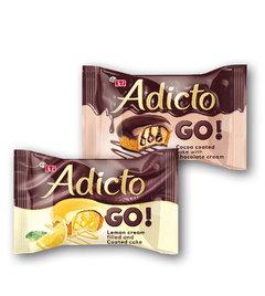 Adicto Go koláček citronový, kakaový s čokoládou