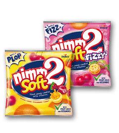 Nimm2 Soft s obsahem vitamínů ovocné, fizzy