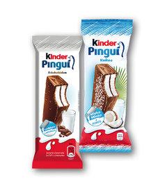 Kinder Pinguí s čokoládou, kokos