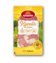 Kavalír se sýrem krájený balený